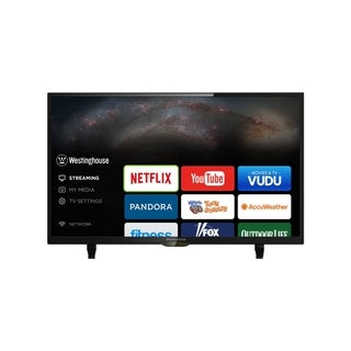 Refurbished Westinghouse 43 in. 4K Smart LED W/ WIFI - Black