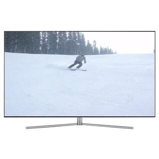 Refurbished Samsung 55 in. QLED 4K Ultra HD Smart LED W/ WIFI - black