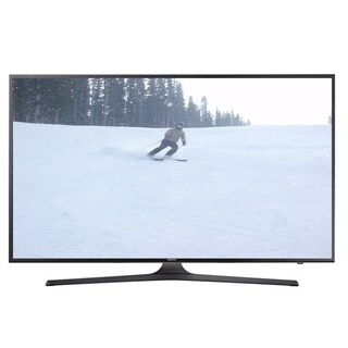 Refurbished Samsung 40 in. 4K Smart LED W/ WIFI - black