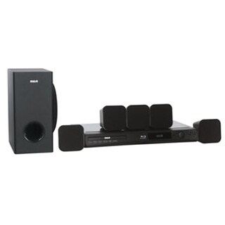 Refurbished RCA 5.1 CH Home Theater System with Blu-ray Player - Black