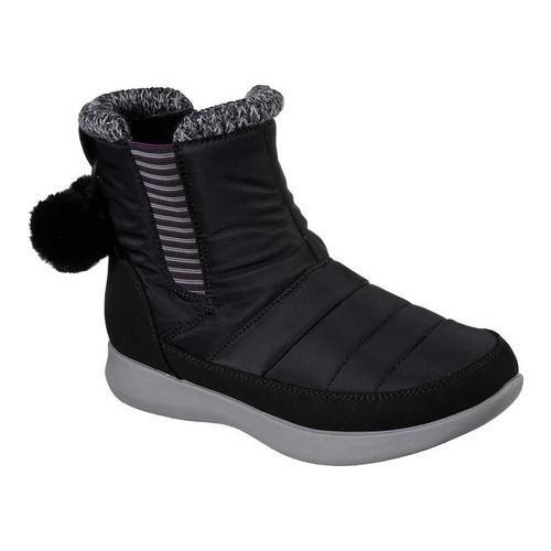 056978c5d49 Women's Skechers Boulder Travel Quest Mid Calf Boot Black