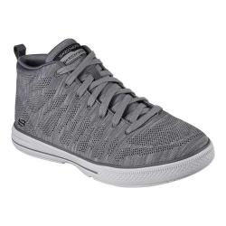 Men's Skechers Arcade Skuta High Top Sneaker Charcoal