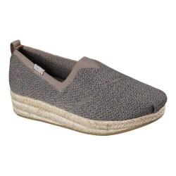 Women's Skechers BOBS Highlights Get Knitty Espadrille Taupe/Multi
