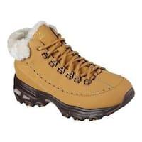 Women's Skechers D'Lites Ankle Boot Wheat