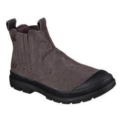 Men's Skechers Relaxed Fit Milton Rolent Ankle Boot Brown