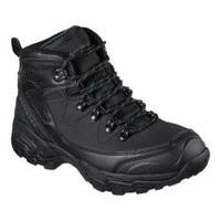 Men's Skechers Relaxed Fit Pedley Aster Hiking Boot Black