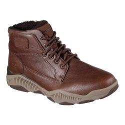 Men's Skechers Relaxed Fit Ridge Fowler Ankle Boot Brown
