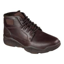 Men's Skechers Relaxed Fit Ridge Fowler Ankle Boot Chocolate