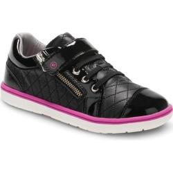 Girls' Stride Rite SRT Olivia Quilted Sneaker - Preschool Black Leather