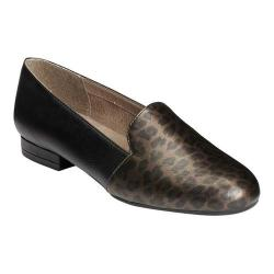 Women's A2 by Aerosoles Good Call Flat Leopard Combo Faux Leather
