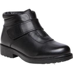 Men's Propet Tyler Ankle Strap Boot Black Leather