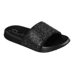 available really cheap new arrive Women's Skechers 2nd Take Summer Chic Slide Sandal Black/Black    Overstock.com Shopping - The Best Deals on Sandals