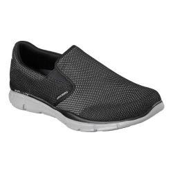 Men's Skechers Equalizer Shryke Slip-On Black/Gray