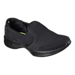 Women's Skechers GOwalk 4 Attuned Slip-On Sneaker Black