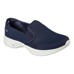 Women's Skechers GOwalk 4 Attuned Slip-On Sneaker Navy