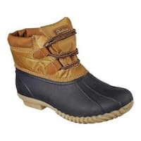 Women's Skechers Hampshire Duck Boot Navy/Tan