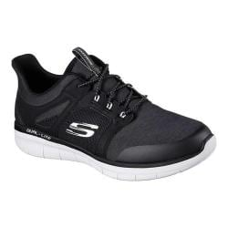 Men's Skechers Synergy 2.0 Chekwa Sneaker Black/White