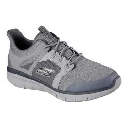 Men's Skechers Synergy 2.0 Chekwa Sneaker Charcoal/Gray