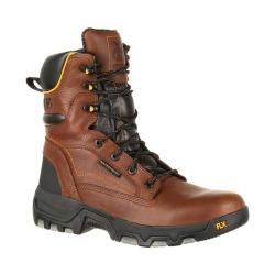 Men's Georgia Boot GB00169 8in FLXpoint Waterproof Hiker Work Boot Brown Full Grain Leather