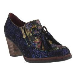 Women's L'Artiste by Spring Step Madalena Heel Navy Leather