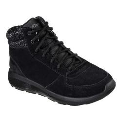 Women's Skechers On the GO City 2 North Ice Ankle Boot Black/Gray