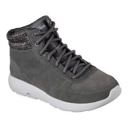 Women's Skechers On the GO City 2 North Ice Ankle Boot Charcoal