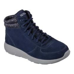 Women's Skechers On the GO City 2 North Ice Ankle Boot Navy/Gray