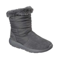 Women's Skechers On the GO City 2 Puff Cold Weather Boot Charcoal