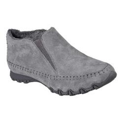 Women's Skechers Relaxed Fit Bikers High Top Charcoal