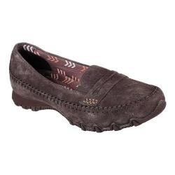 Women's Skechers Relaxed Fit Bikers Penny Lane Loafer Chocolate