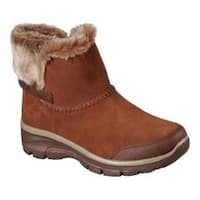 Women's Skechers Relaxed Fit Easy Going Quantum Ankle Boot Brown