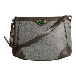 Women's 3 Lily Pads Champlain Hobo Handbag Midtown Black Denim Print