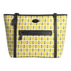 Women's 3 Lily Pads St. Clair Tote Bag Mid-Century Mosaic Print