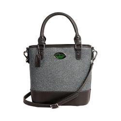 Women's 3 Lily Pads Tahoe Bucket Bag Midtown Black Denim Print