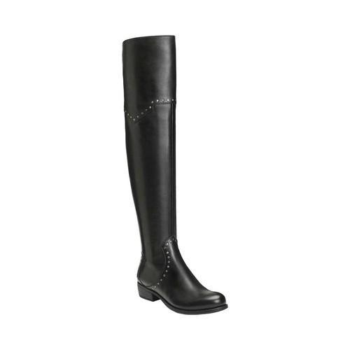 Women's Aerosoles West Side Over-the-Knee Boot Black Leather