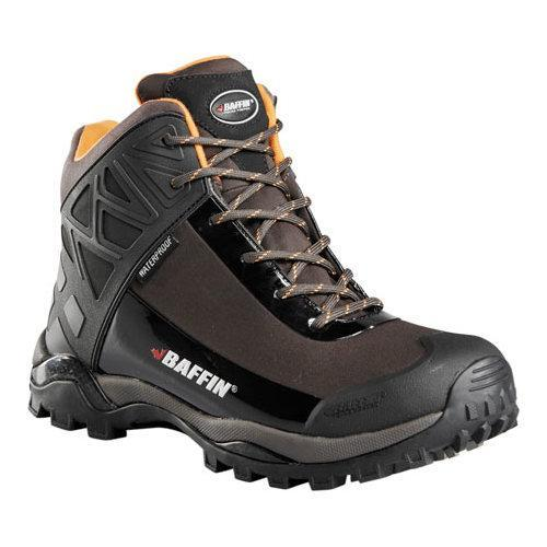 Men's Baffin Blizzard Ankle Boot Chocolate/Orange