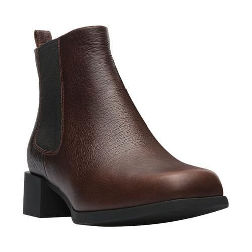 Shop Mujer Medium Camper Kobo Chelsea Bootie Medium Mujer Marrón Leather Ships 92f165