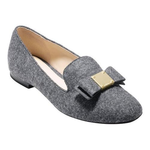 4502183ea07 Shop Women s Cole Haan Tali Bow Loafer Gray Flannel - Free Shipping Today -  Overstock - 17905140