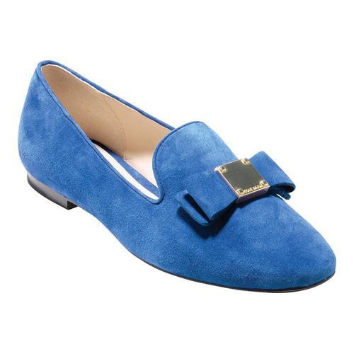 68d2d98e0e8 Shop Women s Cole Haan Tali Bow Loafer Limoges Suede - On Sale - Free  Shipping Today - Overstock - 17905141