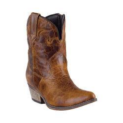 Women's Dingo Adobe Rose DI692 Brown Krackle Leather