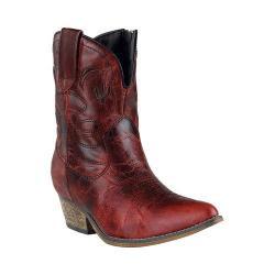 Women's Dingo Adobe Rose DI695 Red Distressed Leather