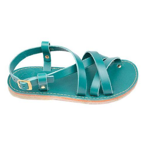 fb4600ea9 Shop Duckfeet Bornholm Strappy Sandal Turquoise Leather - Free Shipping  Today - Overstock - 17905271