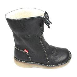 Duckfeet Arhus Shearling Lined Boot Black Leather