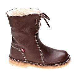 Duckfeet Arhus Shearling Lined Boot Chocolate Leather