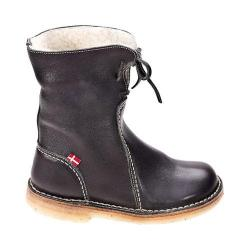 Duckfeet Arhus Shearling Lined Boot Stone Leather