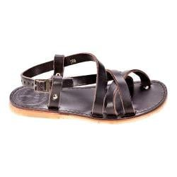 Duckfeet Bornholm Strappy Sandal Chocolate Leather