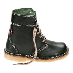 Duckfeet Faborg Leather Ankle Boot Green Leather