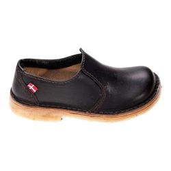Duckfeet Falster Slip-on Shoe Black Leather - Thumbnail 0