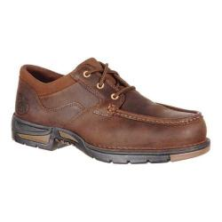Men's Georgia Boot GB00157 3in Athens Moc Toe Oxford Dark Brown Full Grain Leather