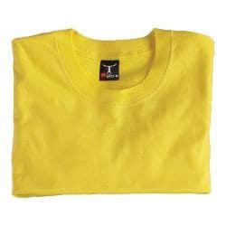 Men's Hanes Beefy Short Sleeve T 6.1 oz (Set of 4) Yellow